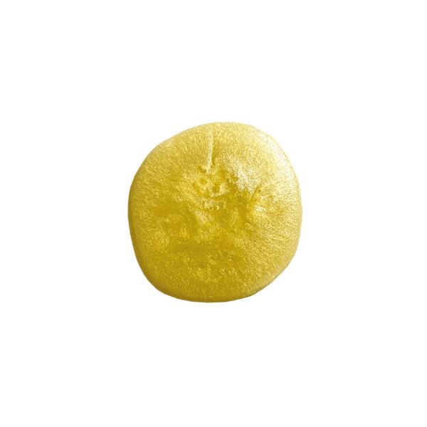 Textur des Jungbrunnen von Yemanja, senfgelb gefärbt.
